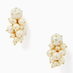 NEW Kate Spade Pearls Pearls Pearl Cluster Earring